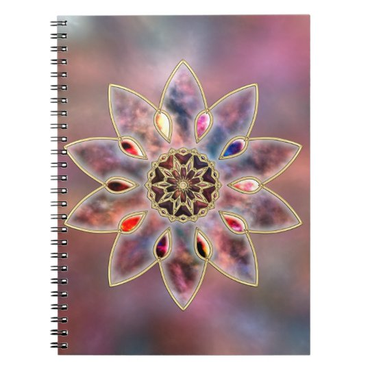 Marbled Galaxies Notebook