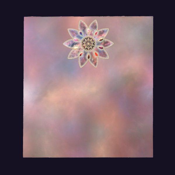 Marbled Galaxies Notepad