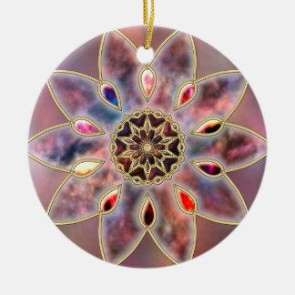 Marbled Galaxies Ornament