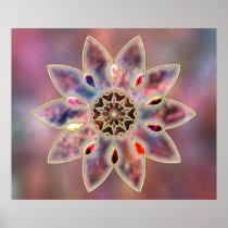 Marbled Galaxies Print