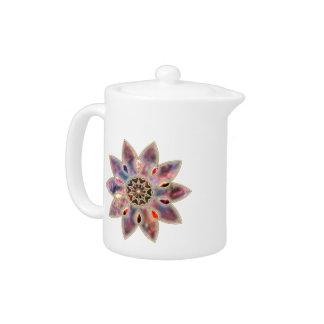 Marbled Galaxies Teapot