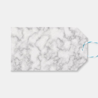Marbled Gray White Marble Stone Pattern Background Gift Tags