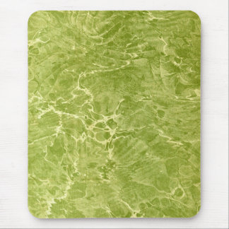 Marbled Green Mouse Pad