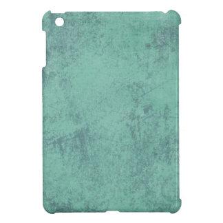 MARBLED GRUNGE RANDOM ABSTRACT SOLID BLUEISH GREEN iPad MINI CASES