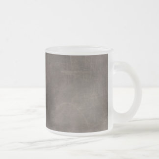 MARBLED GRUNGE RANDOM ABSTRACT SOLID GREYS GRAY GR FROSTED GLASS COFFEE MUG