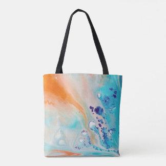 Marbled ink bag