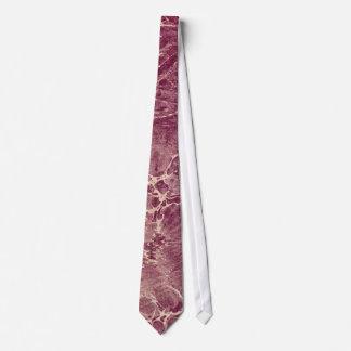 Marbled Maroon Tie