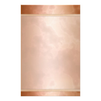 "Marbled Mocha Rose Stationary 5.5"" x 8.5"" Stationery"