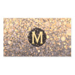 Marbled Monogram Double-Sided Standard Business Cards (Pack Of 100)
