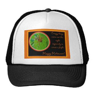 Marbled Orb Weaver Spider Happy Halloween Items Trucker Hat