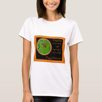 Marbled Orb Weaver Spider Happy Halloween Items T-Shirt