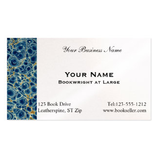 Marbled Paper 4 Business Card