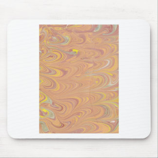 Marbled Paper Design Mouse Pad