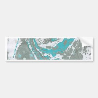 Marbled Paper Designs Bumper Sticker