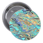 marbled paper pattern button