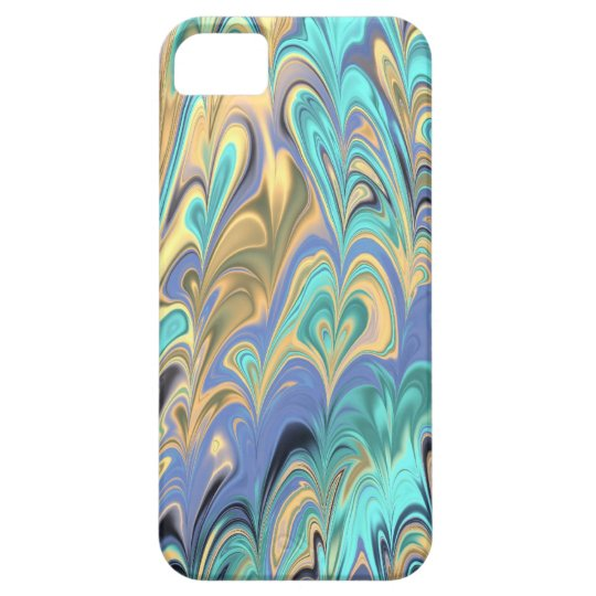 marbled paper pattern iPhone 5 Case