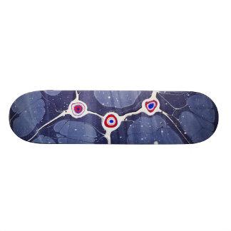 Marbled Pop Art Skateboard Deck
