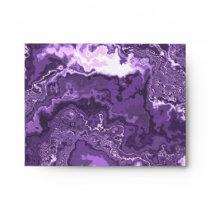 Marbled Purple Envelope