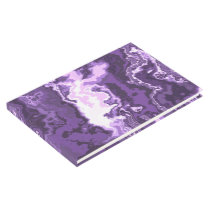 Marbled Purple Guest Book