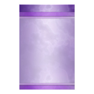 "Marbled Purple Stationary 5.5"" x 8.5"" Stationery"