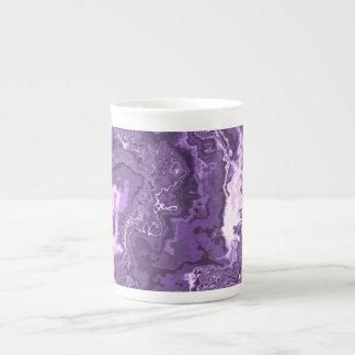 Marbled Purple Tea Cup
