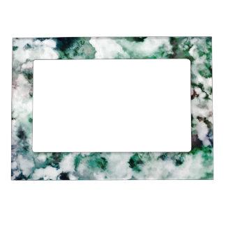 Marbled Quartz Texture Magnetic Photo Frame