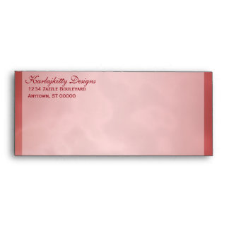 Marbled Red Envelope