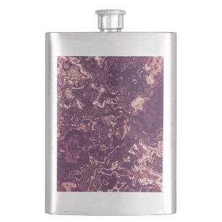Marbled Red Flask