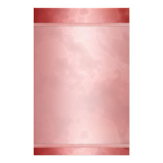 "Marbled Red Stationary 5.5"" x 8.5"" Stationery"