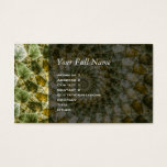 Marbled Shards - Mandelbrot Art Business Card