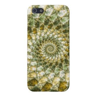 Marbled Shards - Mandelbrot Art Cover For iPhone SE/5/5s