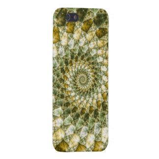 Marbled Shards - Mandelbrot Art iPhone SE/5/5s Cover