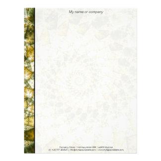 Marbled Shards - Mandelbrot Art Letterhead