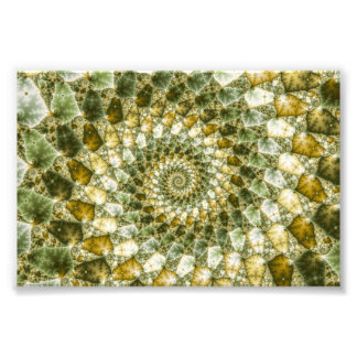 Marbled Shards - Mandelbrot Art Photo Print