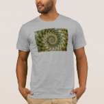Marbled Shards - Mandelbrot Art T-Shirt