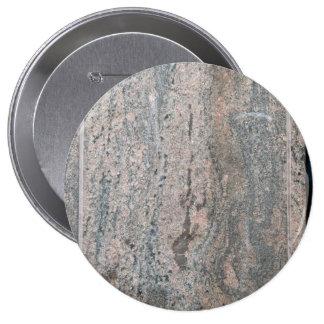 marbled stone 4 inch round button