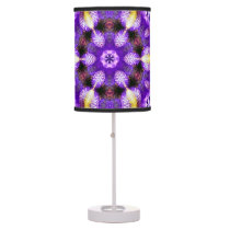 Marbled table lamp Great colors purple KEY BURST