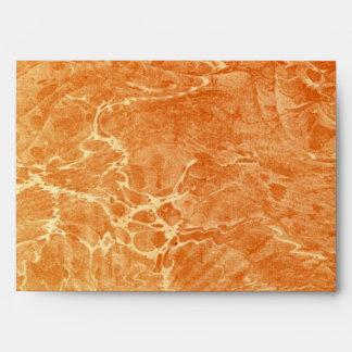 Marbled Tan Envelope