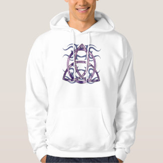 Marbled Triquetra Men's Hoodie