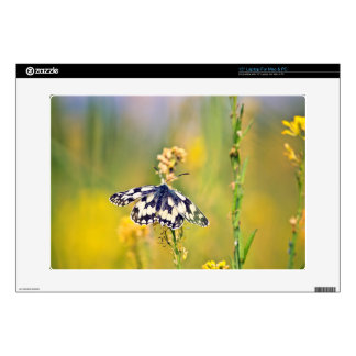 "Marbled White Butterfly 15"" Laptop Skins"