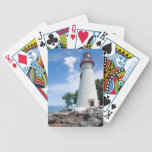 Marblehead Lighthouse Bicycle Playing Cards