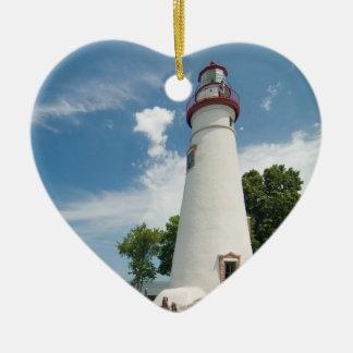 Marblehead Lighthouse Ceramic Ornament