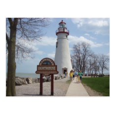 Marblehead Lighthouse, Ohio Postcard at Zazzle