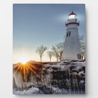 Marblehead Lighthouse Plaque