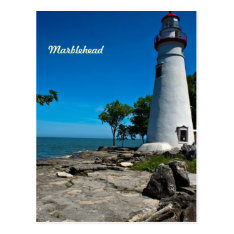 Marblehead Lighthouse Postcard at Zazzle