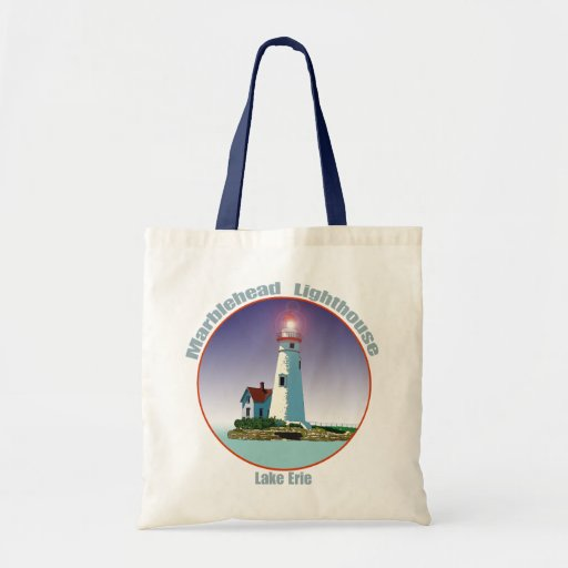 Marblehead Lighthouse Tote Bags