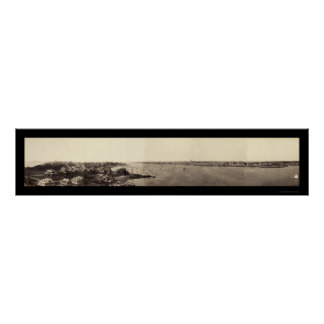 Marblehead MA Photo 1898 Poster