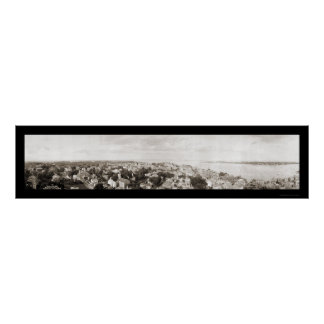 Marblehead MA Photo 1912 Poster