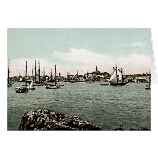 Marblehead, Massachusetts Tarjeta De Felicitación