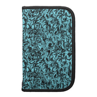 Marbleized Abstract Swirl Folio Planners